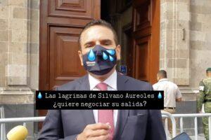 Primer acto, Silvano llega a Palacio Nacional, segundo, lo dejan plantado